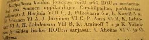 Vuosikertomus 1962-1963