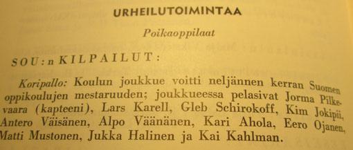 Vuosikertomus 1965-1966